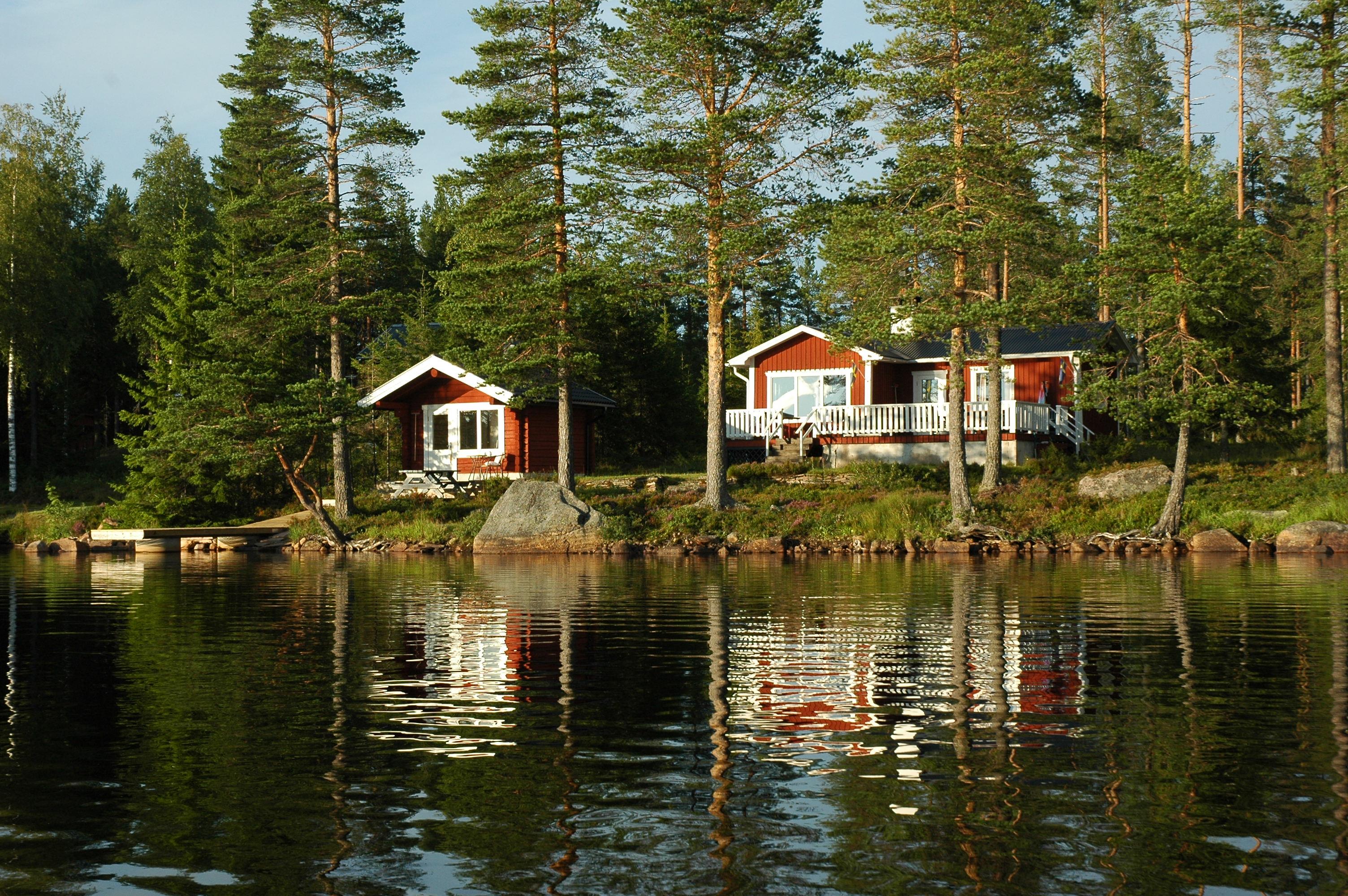 ferienhaus mittelschweden am see niss ngen einsamlage am see boot sauna privater badestrand. Black Bedroom Furniture Sets. Home Design Ideas
